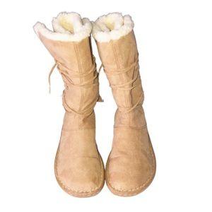 Airwalk Women's Winter Tie Up Boots 7.5